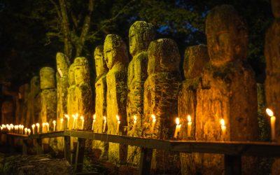 【五百羅漢】加西市羅漢寺の夏行事「千灯会」に涙
