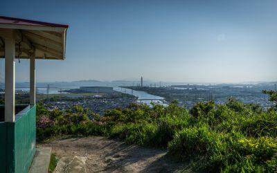 【姫路の絶景】世界遺産と街と播磨灘を同時見出来る御旅山散歩