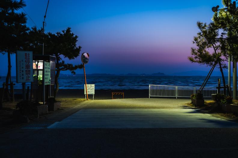 【播州の海水浴場】たつの市新舞子の夕日が絶景!