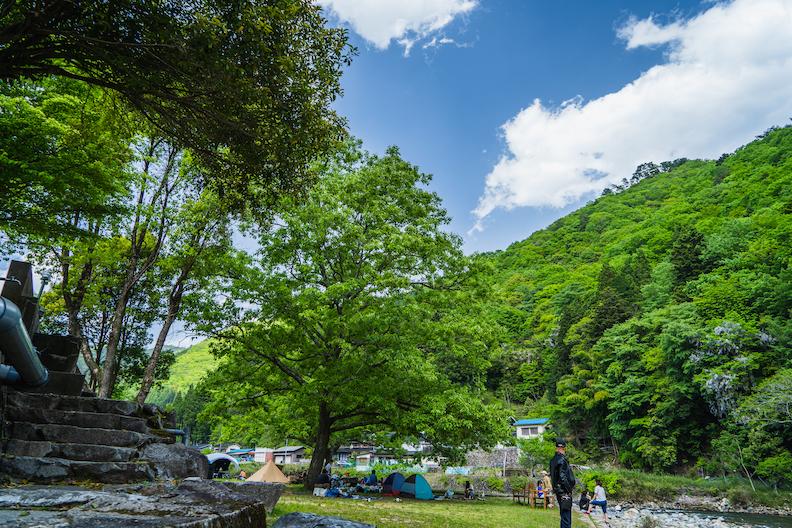 【激安】道の駅ちくさ裏で千種川沿いBBQ&キャンプ!