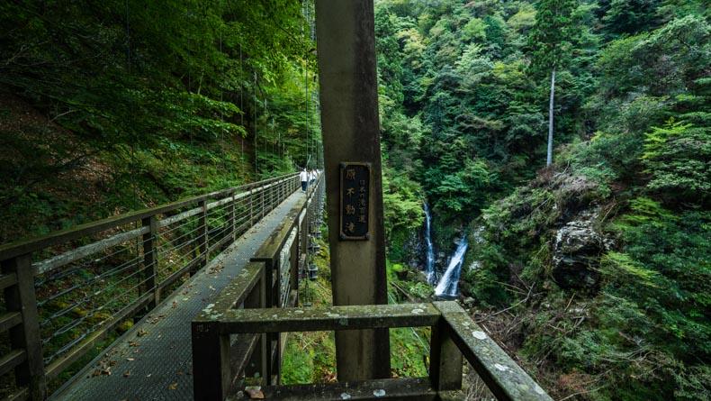【播州唯一】「日本の滝100選」に選ばれた宍粟市・原不動滝